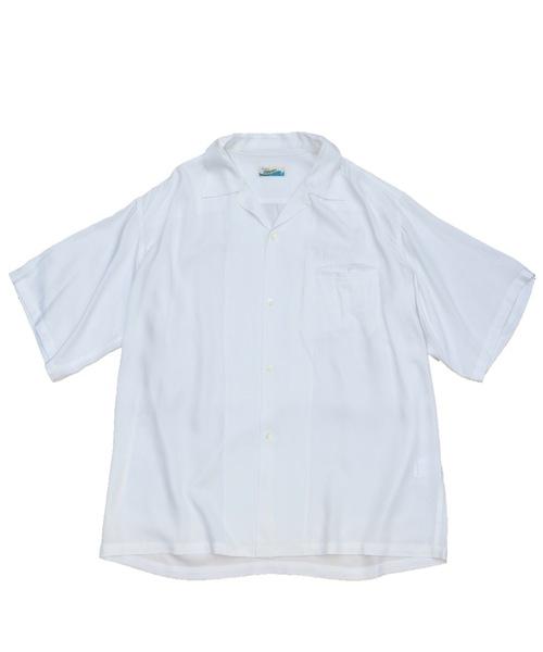 PENNEYS(ぺニーズ)の「PENNEY'S / ペニーズ HAWAII SOLID SHIRTS(シャツ/ブラウス)」|ホワイト
