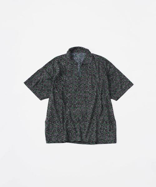 新品?正規品  天竺のペイズリー柄馬比古シャツ(ポロシャツ) 45R(フォーティファイブアール)のファッション通販, luby ファッション:e3f93621 --- bioscan.ch
