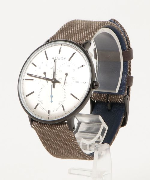【ADEXE/アデクス】Denim Collection 腕時計