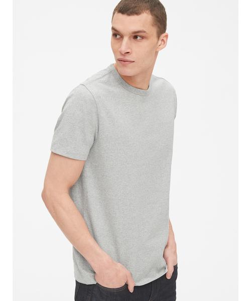 厚手半袖クルーネックTシャツ