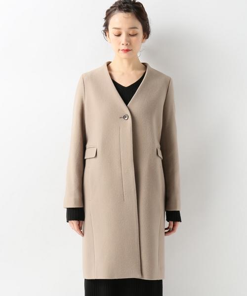 SLOBE IENA(スローブイエナ)の古着「コート(その他アウター)」|ベージュ