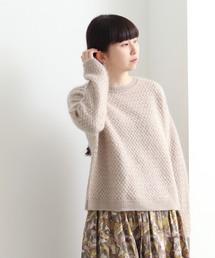 yuni(ユニ )の8G ウール/シルク/モヘヤ ワイドプルオーバー(ニット/セーター)
