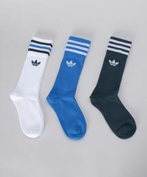 <adidas Originals>3PACKS SOCKS/ソックス