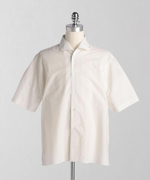 <LOEFF(ロエフ)> CTN/VIS ショートスリーブ セーラーシャツ MEN'S