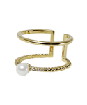 Ameri | DOUBLE STRAND PEARL RING(リング)