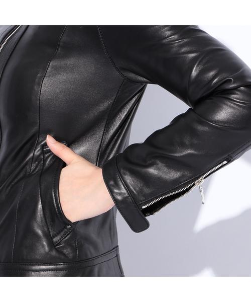 ◇◇【LOVELESS】WOMENS レザーナビゲータージャケット