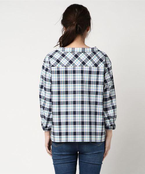 ツイルマックレガーチャックシャツ