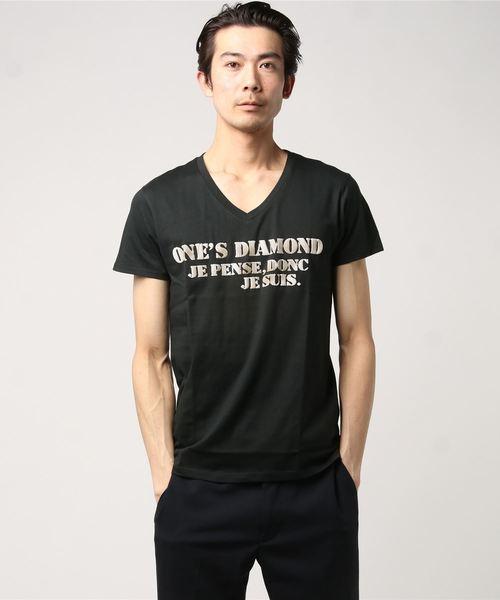 手作りロゴプリントTシャツ