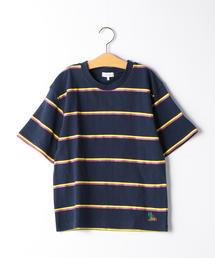 【ジュニア】ボーダープリントTシャツ
