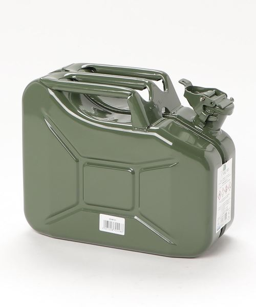 【 hunersdorff / ヒューナースドルフ 】Metal Kanister CLASSIC 10L CUR