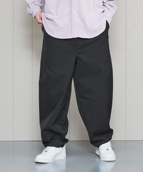 <H>LEFTY TWILL BALLOON PANTS/パンツ