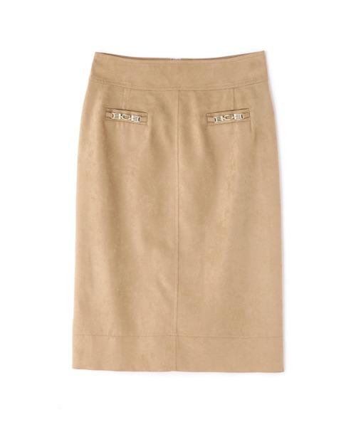 ◆エルモザスエードビットスカート