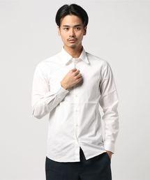 HYSTERIC GLAMOUR(ヒステリックグラマー)のブロード長袖レギュラーカラーシャツ(シャツ/ブラウス)