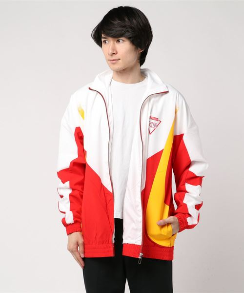PUMA プーマ M HOMAGE TO ARCHIVE TRACKTOP 578537 43RED