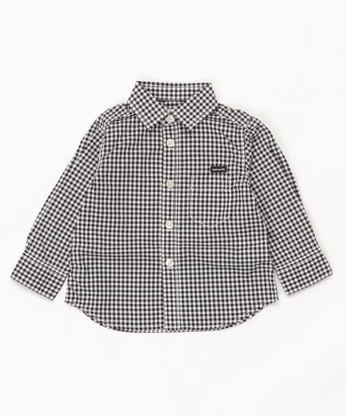 ギンガムチェック 長袖 シャツ