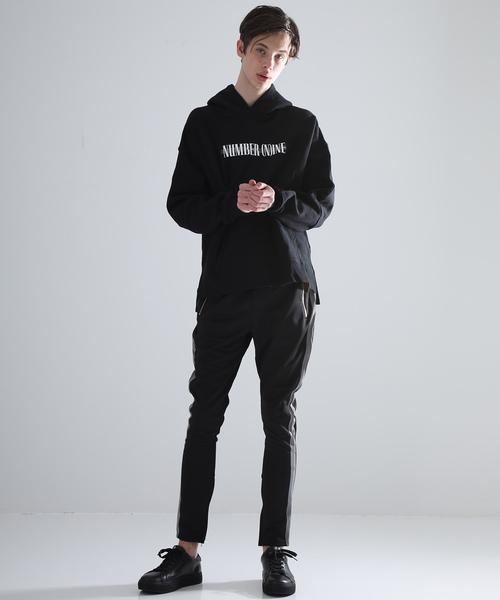 【NUMBER (N)INE DENIM】logo hoodie