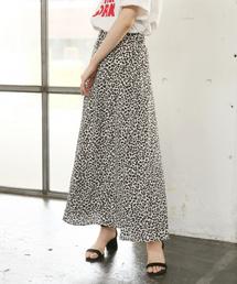 LOWRYS FARM(ローリーズファーム)のレオパードAラインスカート 840443(スカート)