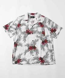 AZUL BY MOUSSY(アズールバイマウジー)のALOHA PATTERN SHIRT/アロハパターンシャツ(シャツ/ブラウス)