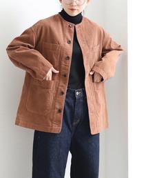yuni(ユニ )のcorduroy 製品染め coverall(ノーカラージャケット)