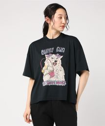THE GHOST WOLVES/BUNNY RUN オーバーサイズTシャツブラック