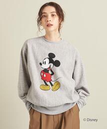 【別注】<Americana(アメリカーナ)>スウェットプルオーバー/Mickey ∴