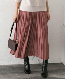 URBAN RESEARCH ROSSO WOMEN(アーバンリサーチ ロッソ)のプリーツロングスカート(スカート)