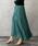 URBAN RESEARCH ROSSO WOMEN(アーバンリサーチ ロッソ)の「プリーツロングスカート(スカート)」 グリーン