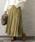 URBAN RESEARCH ROSSO WOMEN(アーバンリサーチ ロッソ)の「プリーツロングスカート(スカート)」 マスタード