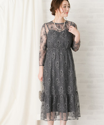 URBAN RESEARCH ROSSO WOMEN(アーバンリサーチ ロッソ)のkaene 総レースワンピース(ドレス)