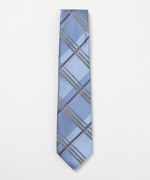 BLACK LABEL CRESTBRIDGE(ブラックレーベル?クレストブリッジ)の「カラーペーンチェック(ネクタイ)」|ブルー