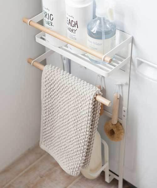 tosca (トスカ) 洗濯機横マグネット収納ラック