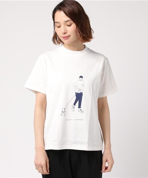 [L&HARMONY / エルアンドハーモニー] sayurinishikubo Tシャツ 'Boy'