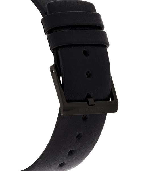 [カルバンクライン] CALVIN KLEIN 腕時計 High Noon(ハイヌーン) 3針 ブラック×ブラック