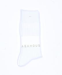 ABAHOUSE(アバハウス)の無地リブソックス(ソックス/靴下)