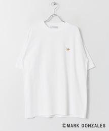 SENSE OF PLACE by URBAN RESEARCH(センス オブ プレイス バイ アーバンリサーチ)のマークゴンザレスワッペンTシャツ(5分袖)(Tシャツ/カットソー)