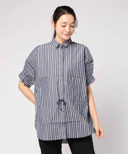 【売り切り御免!】 ストライプシャツ, もち処木乃幡 48d0df37