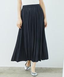 ROPE' PICNIC(ロペピクニック)のシャイニープリーツロングスカート(スカート)