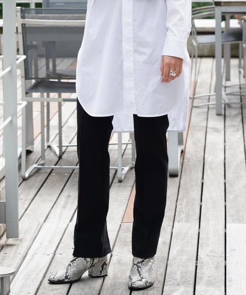 【期間限定!最安値挑戦】 トリコットジャージー バックスリットパンツ(パンツ)|TOMORROWLAND(トゥモローランド)のファッション通販, 犀川町:cdebcb1b --- fahrservice-fischer.de