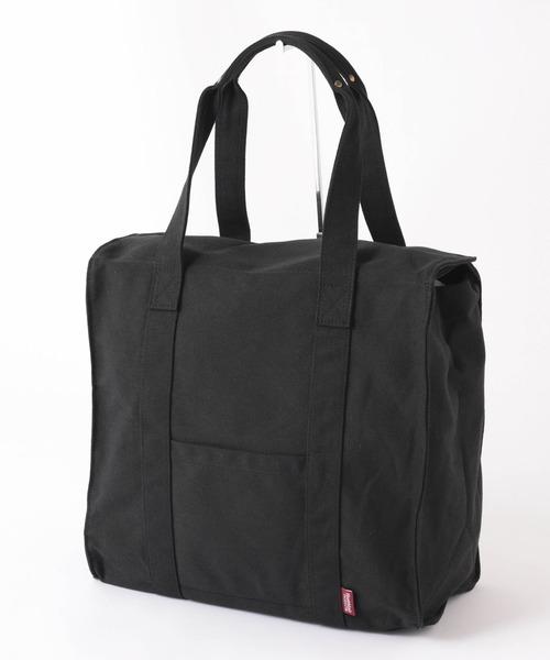Healthknit Product(ヘルスニットプロダクト)の「コットントートバッグ(トートバッグ)」|ブラック