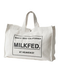 MILKFED. | STENCIL CANVAS TOTE BAG(トートバッグ)