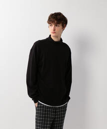 <Steven Alan>SMOOTH LOOSE TURTLE NECK LONG SLEEVE/カットソー ◆