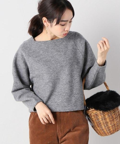 IENA(イエナ)の古着「長袖カットソー(Tシャツ/カットソー)」|グレー