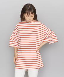 <Americana(アメリカーナ)>ボーダーワイドTシャツ