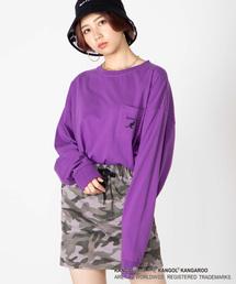 KANGOL(カンゴール)の∴WEGO/KANGOL別注ポケットロンT(Tシャツ/カットソー)