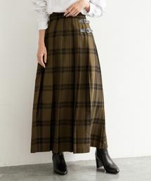 LOWRYS FARM(ローリーズファーム)のチェックキルトスカート 855008(スカート)