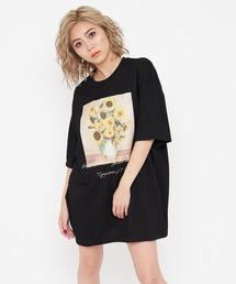 Sunflower Tシャツブラック