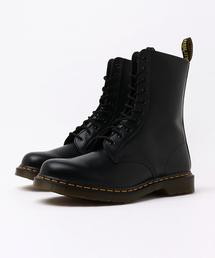 Dr.Martens(ドクターマーチン)のDr.Martens ドクターマーチン 1490 DMC BLACK SMOOTH 10ホールブーツ 11857001 BLACK(ブーツ)