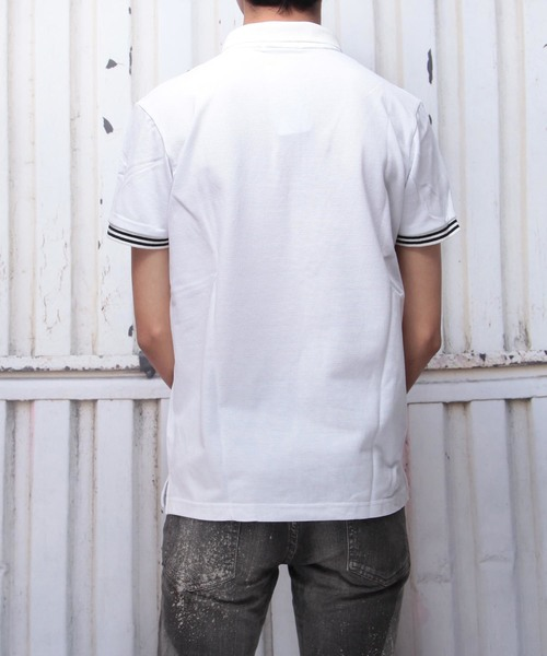 クールマックスストレッチダブルカラーポロシャツ(GW)