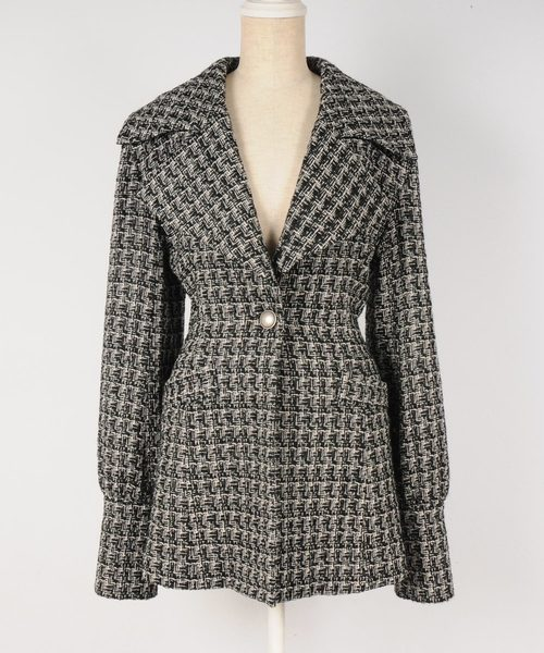 OVER JACKET - TWEED