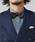 Furbo design(フルボデザイン)の「【Furbo design】 フルボデザイン 西陣織ハンドメイド蝶ネクタイ(蝶ネクタイ)」 ブラウン